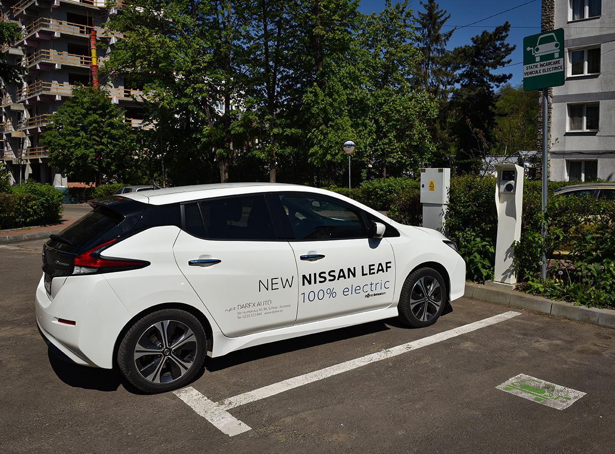 #7 Haihui – Nissan Leaf, caut priză în județul Suceava (videoclip)