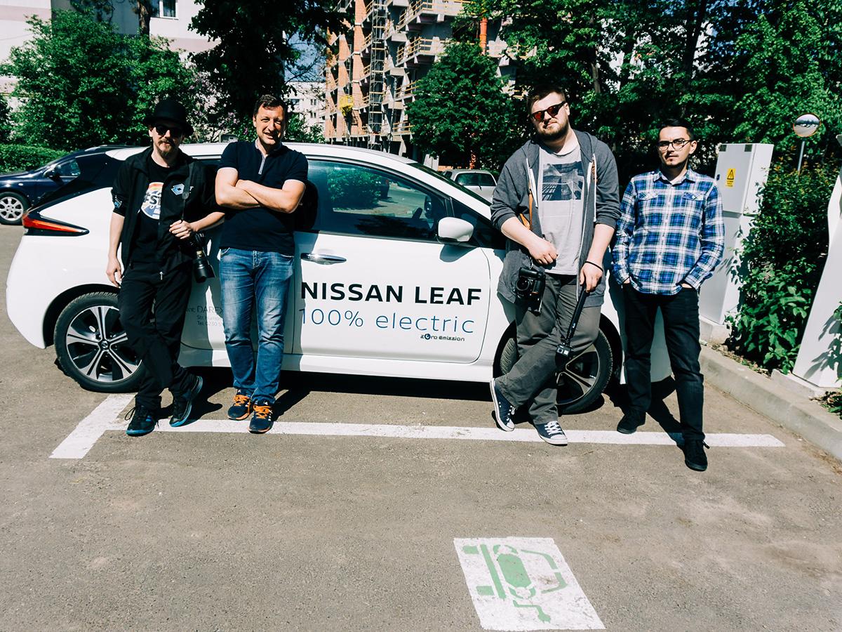 #7 Haihui – Nissan Leaf, caut priză în județul Suceava
