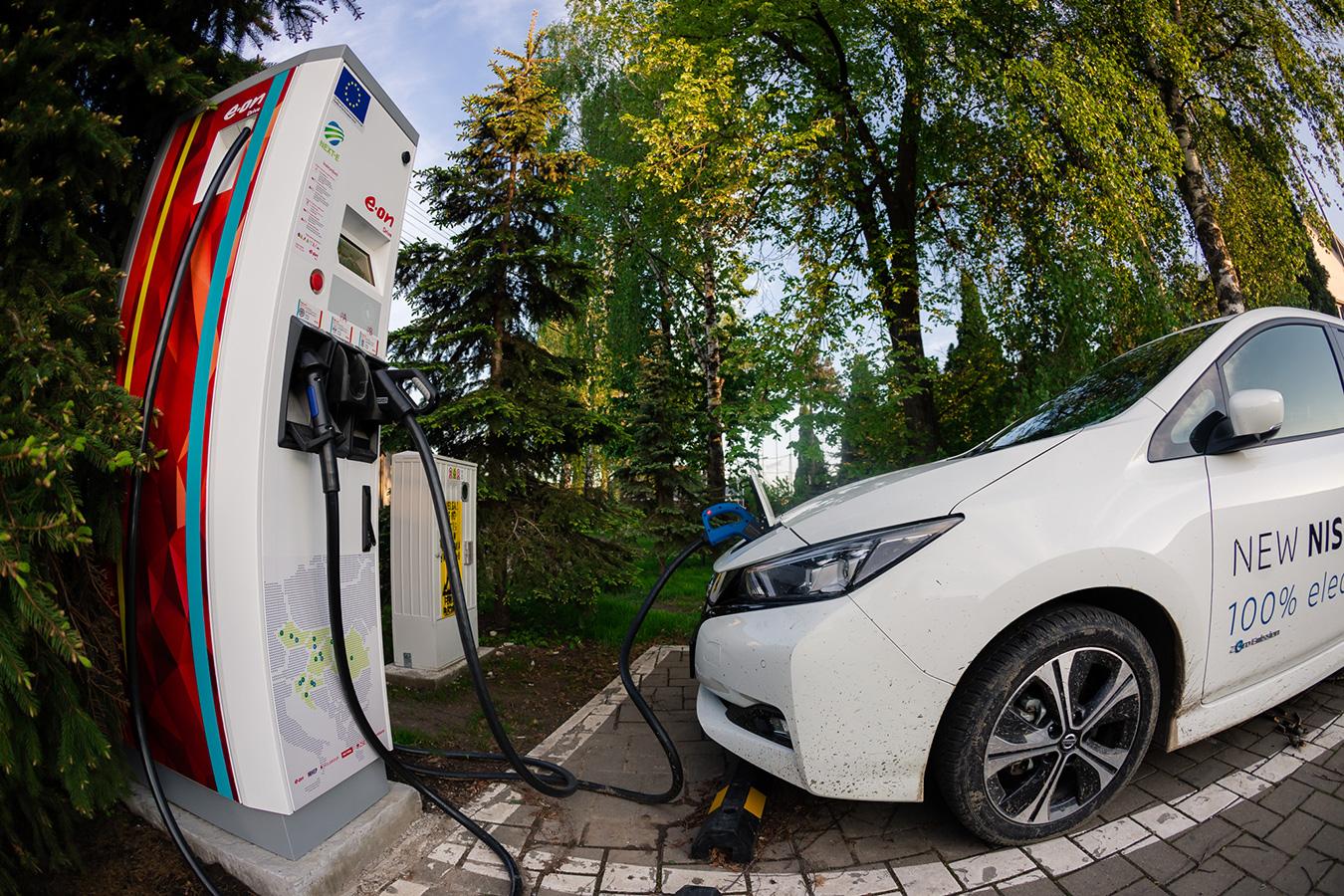 #7 Haihui - Nissan Leaf, caut priză în județul Suceava